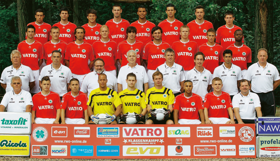Resultado de imagem para Rot-Weiß Oberhausen