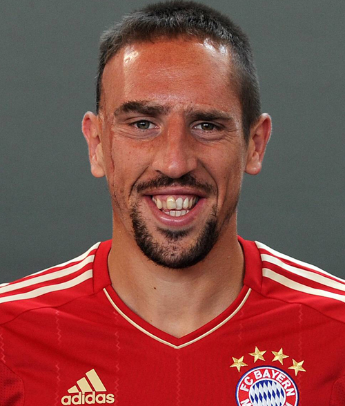 Franck Ribery - Bayern München - Champions League: alle ...