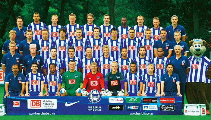 Hertha BSC  2 Bundesliga die Vereinsinfos, News, und