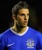 Everton verleiht Mirallas an Piräus