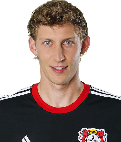 The 33-year old son of father (?) and mother(?), 191 cm tall Stefan Kießling in 2018 photo