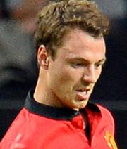 Evans bei Manchester United vor dem Absprung