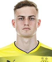 BVB-Talent Larsen ist Augsburg aufgefallen