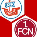 Hansa Rostock - 1. FC Nürnberg 2:2, DFB-Pokal, Saison 2018/19, 2.Spieltag - LIVE!-Match - kicker