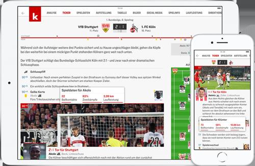 Kicker Apps Die Ganze Welt Des Fussballs Jetzt Mobil Mit