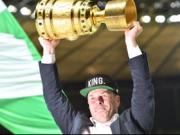 Heckings Bierdusche - Wolfsburg kann doch feiern
