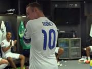 Rooney sagt Danke - Kabinenansprache vom Rekordtorsch�tzen