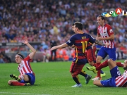 Neymar kunstvoll, Messi glanzvoll