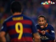 Heben, drehen, schie�en: Neymar zauberhaft!