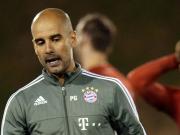 Zum letzten Mal mit Guardiola - Bayern im Trainingslager