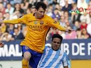 Akrobatischer Messi erl�st Barcelona