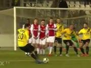 Freisto�trick deluxe - Bredas Spieler verwirren sich selbst