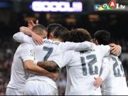 Ronaldo mit rechts, mit links und mit dem Kopf
