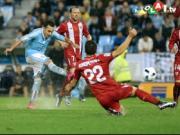 Wasserschlacht in Vigo: Sevilla rutscht ins Finale