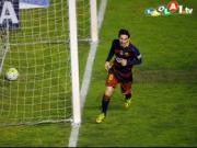 Patzer, Pech und ein �berragender Messi