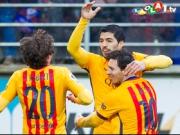 L�ssiger Messi und energiegeladenes Suarez-Solo