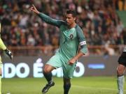 Ronaldo zaubert: �bersteiger plus Beinschuss mit der Hacke