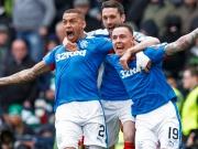 Spektakel pur: Rangers jubeln im Old Firm gegen Celtic