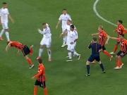 Dreifach-Rot: Eklat im ukrainischen Topspiel