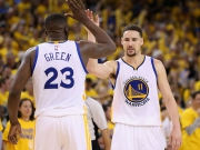 Warriors furios dank Thompson und Green