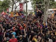 Barcelona im kollektiven Freudentaumel