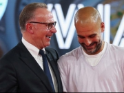 Bayerns Meisterfeier - Standing Ovations f�r Guardiola