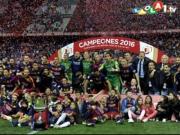 Barça gewinnt ein turbulentes Finale