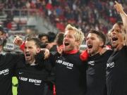 Frankfurt feiert, N�rnberg weint
