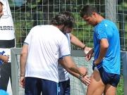 Ronaldos Schrecksekunde macht keine Sorgen