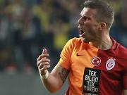 Podolskis Tor zum Pokalsieg mit Galatasaray