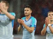 Nass gemacht - DFB-Team verliert gegen Slowakei
