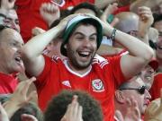 Historisches Wales - Gruppensieger vor England