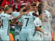 Belgiens Fans feiern: