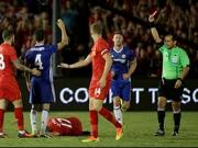 Cahill trifft, Fabregas fliegt, Chelsea siegt