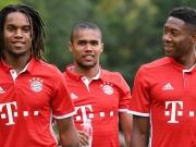 Der neue FC Bayern: Fotoshooting beim Doublesieger