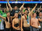 Deutlich weniger Fans: Gladbach fehlt der Anhang