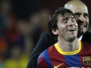 Pep lockt Messi: Vielleicht wollen seine Kinder ja Englisch lernen