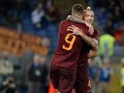 Zweimal Latte, zweimal Dzeko - und die Roma siegt