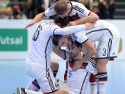 Gelungenes Futsal-Debüt: Deutschland schlägt England