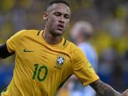 Neymar, Coutinho und Paulinho - Argentinien ohne Chance