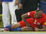 Vidal: Großchance vergeben und verletzt