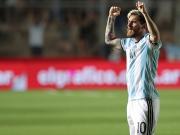 Dank Messi-Gala: Argentinien wieder in der Spur