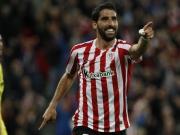 Bilbao bleibt dran: Raul Garcia hat's leicht gegen Villarreal