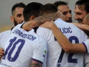 Vier Tore, zwei Torschützen - Florenz souverän