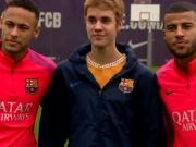 Justin Bieber trainiert wieder mit Barça
