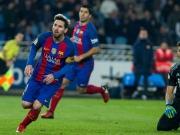 Messi und eine Fehlentscheidung retten Barcelona