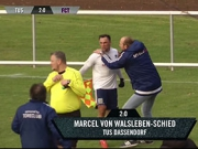 Traumhafter Lupfer vom Ex-Profi Marcel Schied
