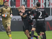 Milans Lapadula: Erst Slapstick, dann Siegtor