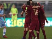 Der AS Rom gewinnt das Derby