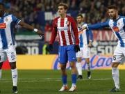 Griezmann beißt sich an Espanyol die Zähne aus